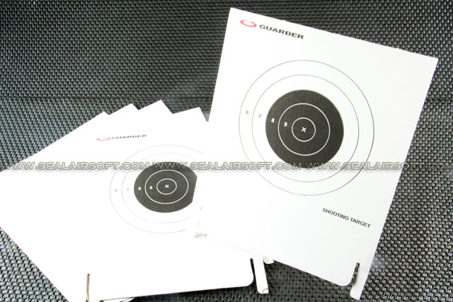 Guarder Type A Easy Shooting Target (4pcs)
