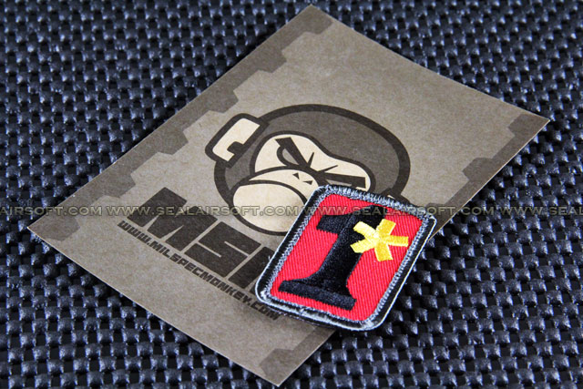 Mil-Spec Monkey Patch - 1 ASSTORISK - Fire