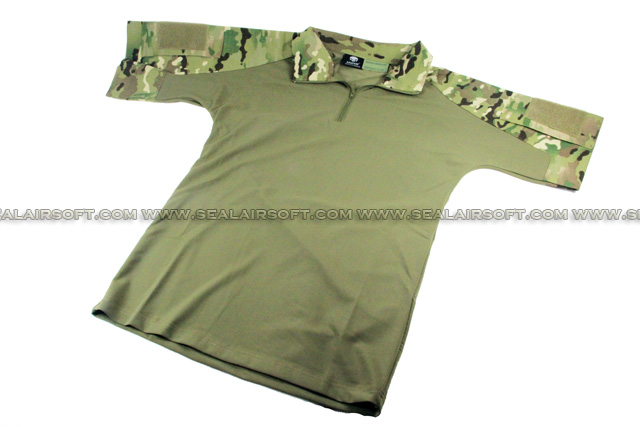 China Made Dry Fit Tactical Combat Shirt (Multicam) SHIRT-04-MC