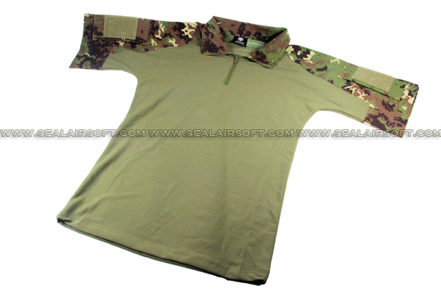 China Made Dry Fit Tactical Combat Shirt (Vegetata) SHIRT-04-VEG