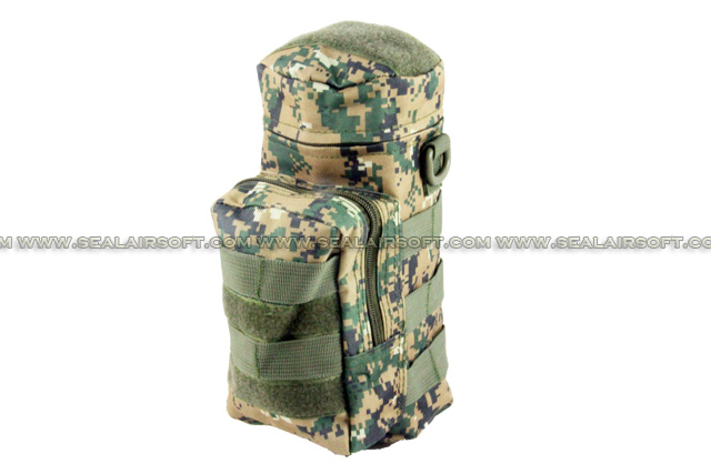 ACM Molle Water Bottle Medic Pouch Digital Woodland Camo PH-013-DWC