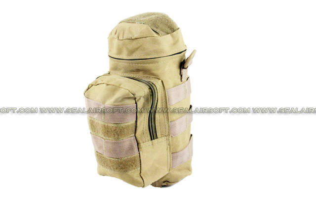 ACM Molle Water Bottle Medic Pouch Tan PH-013-TN