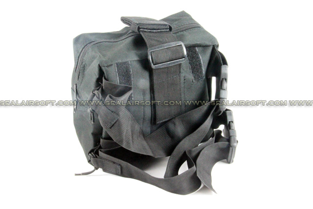 ACM Airsoft Molle Drop Leg Panel Utility Pouch Black PH-014-BK