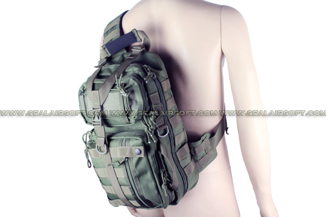 ACM New Verion MOD Molle Assault Hydration Shoulder Bag Olive Drab BG-20-OD