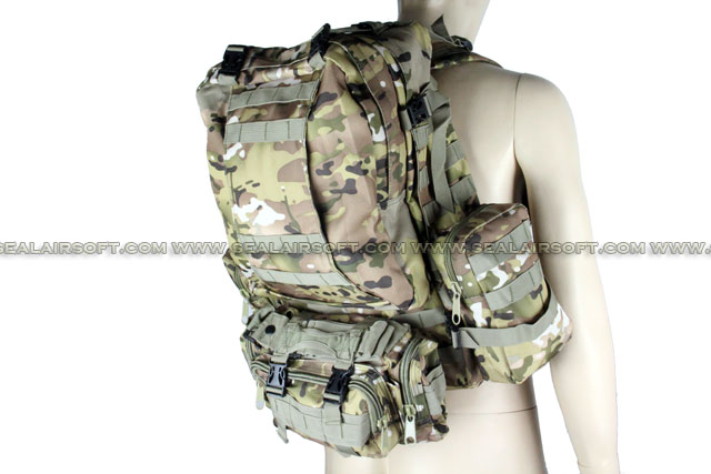 ACM CamelPack Tactical Molle Assault Backpack (Multi Camo) BG-05-MC