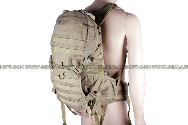ACM Verion 2 Tactical Molle Patrol Rifle Gear Backpack Coyote Brown BG-23-CB