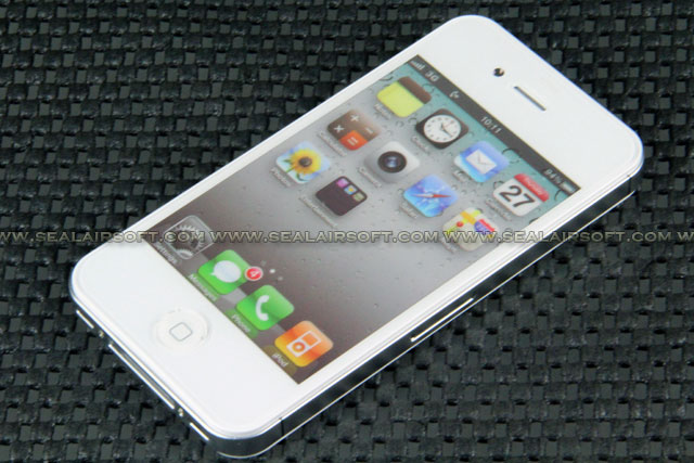 Fake Non Working 1:1 Dummy Color Screen Display For IPhone 4 4S WHITE