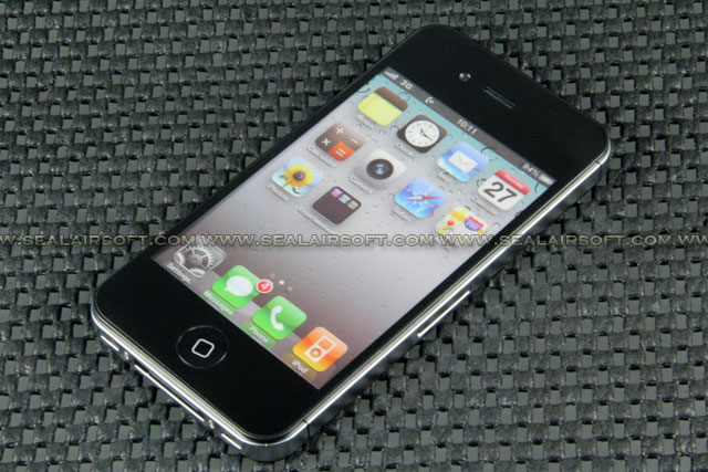 Fake Non Working 1:1 Dummy Color Screen Display For IPhone 4 4S BLACK