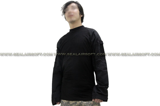 EMERSON Tactical Series Long Sleeve Combat Shirt Black EM8514-BK Size Available