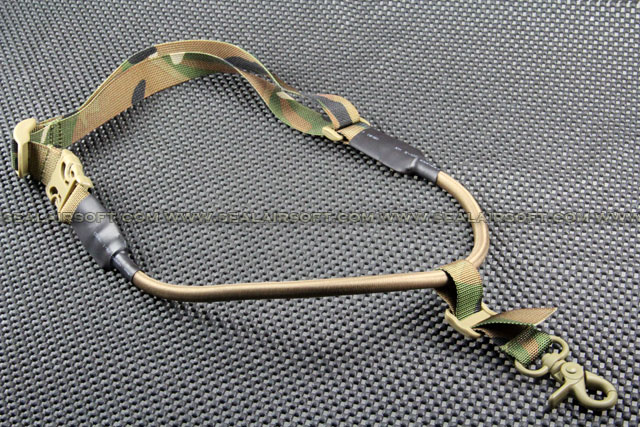 ACM Tactical CQB Nylon Single Point Speed Sling Multi Camo ACM-SS-BD8477A