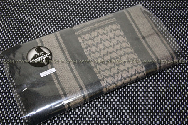 verback Airsoft Shemagh XX-Large Arab Scarf (Foliage Green / Tan) SBA-HEG-01FT