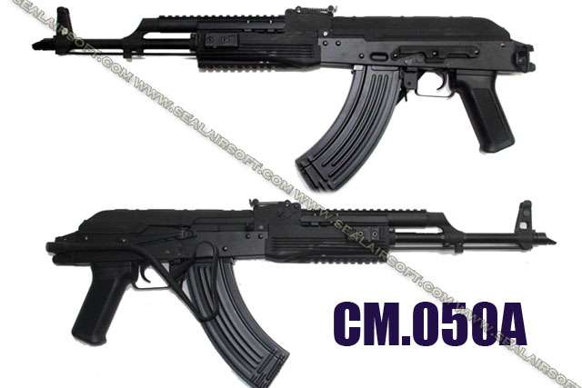 CYMA AIMS PMC AK Blow Back AEG (Foldable METAL Stock BK ) -CYMA-CM050A