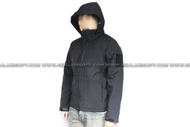 XTONZ Tornado Tactical Jacket (Black) Size Available XTONZ-JK-TRN-BK
