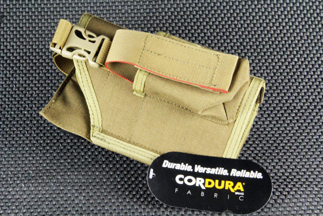 James MOLLE Horizontal Holster for Pistol Launcher (Coyote Brown)