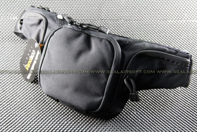 James Low Pitched Waist Pack (Black)