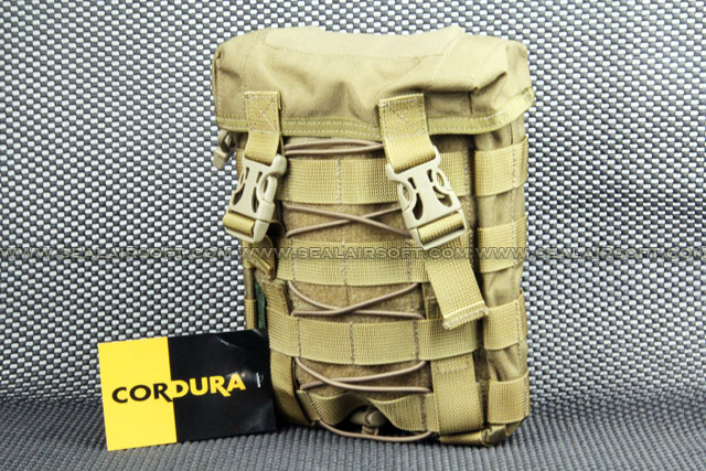CORDURA MOLLE EDC Small Waist Pack - Coyote Brown
