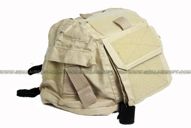 SWAT M2000 Helmet Cover with Pocket (Desert Tan)