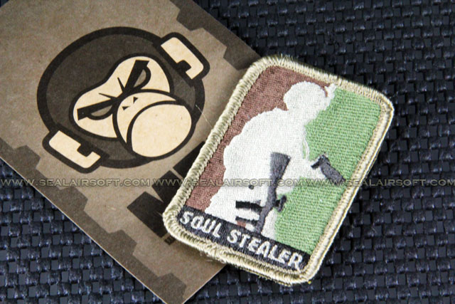 Mil-Spec Monkey Patch - Soul Stealer Logo Velcro-Patch - ARID