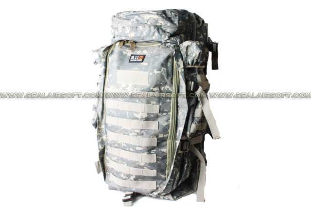 9.11 Tactical Full Gear Rifle Combo Backpack BG-02-ACU