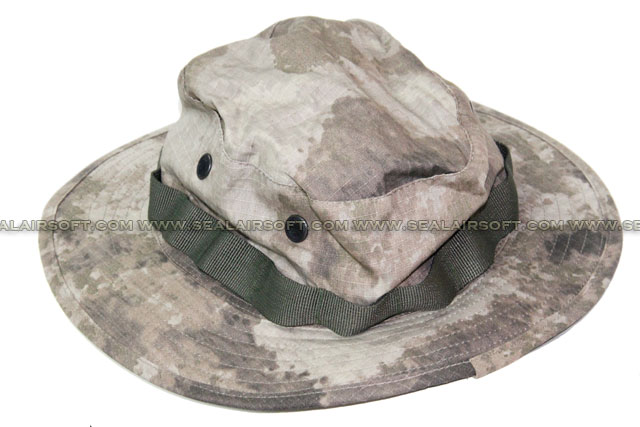 SE Gear US Military Boonie Hat (A-Tacs) SE-CAP01-AT
