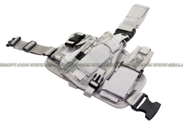 Combination Drop Leg Pistol Holster ACU (PH-020-ACU)