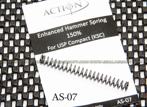 Action Enhanced Hammer Spring (150%) for KSC USP Compact GBB - AT-AS-07