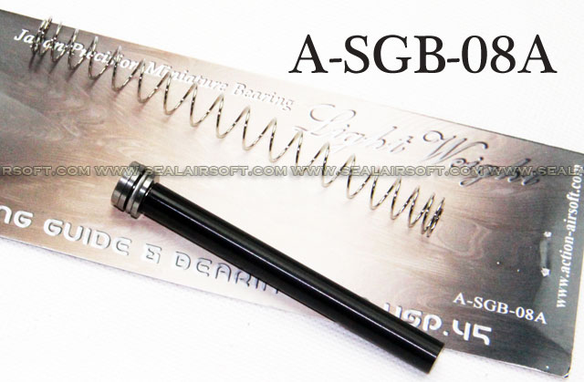 Action Aluminum Recoil Spring Guide for KSC USP .45 GBB - A-SGB-08A
