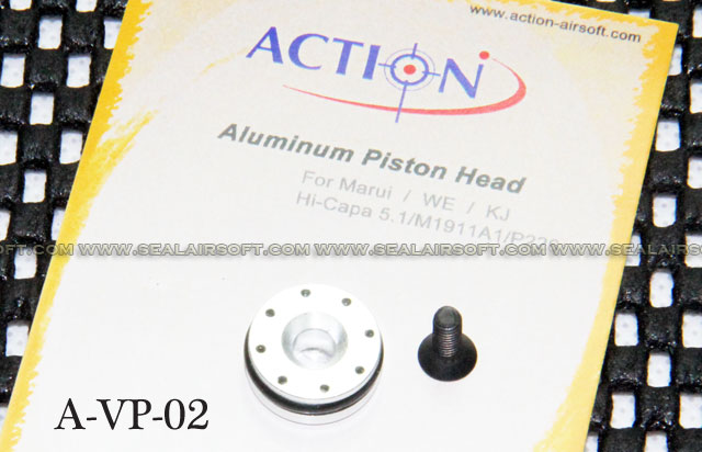Action Aluminum Piston Head for Marui/WE/KJ HI-CAPA/M1911A1/P226 GBB