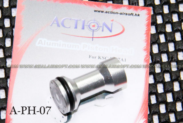 Action Aluminum Piston Head for KSC/KWA MP7A1 - A-PH-07
