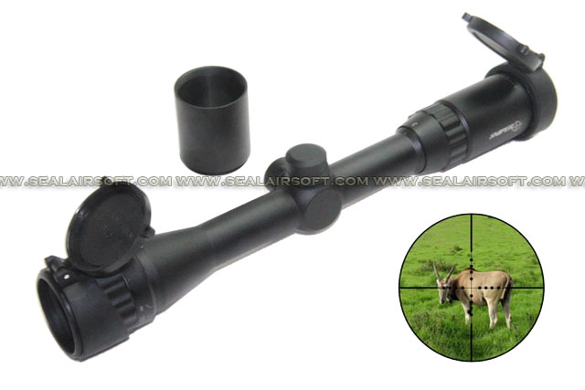 SNIPER LT 3-9x32AO Sniper Rifle Scope With Extender SE-SR-SC0063