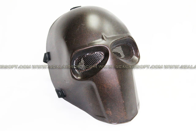 Army of Two Mask Fibreglass Airsoft Paintball Helmet (Copper) - MASK-041-CR