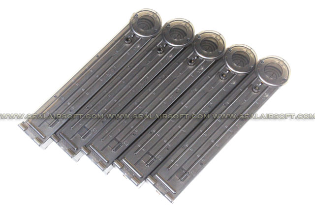 King Arms 100rd Magazine for P90 AEG (5pcs Box Set)