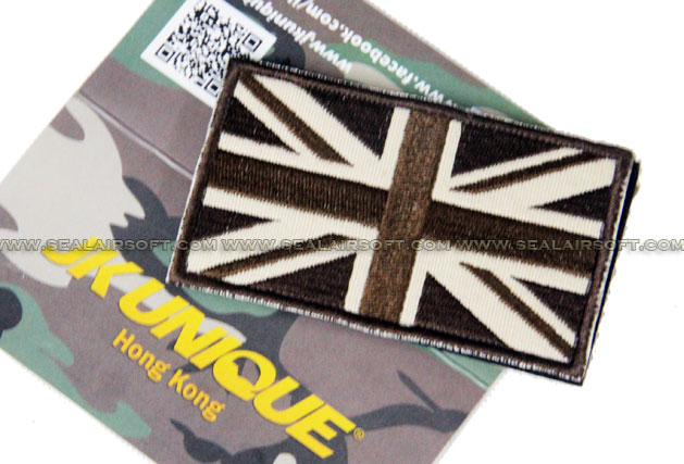 JK UNIQUE Patch - UK Flag (Coyote Brown)