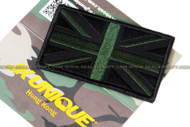 JK UNIQUE Patch - UK Flag (BK/Green)