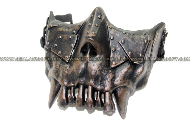 SE Thorn Ling Desert Corps Airsoft Half Face Mask - Copper MK-DC01-CO