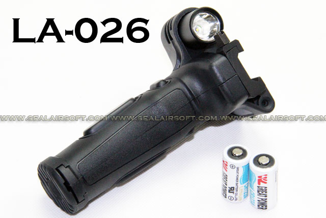 SE Tactical Grip Laser With R2 LED (Black) SE-LA026