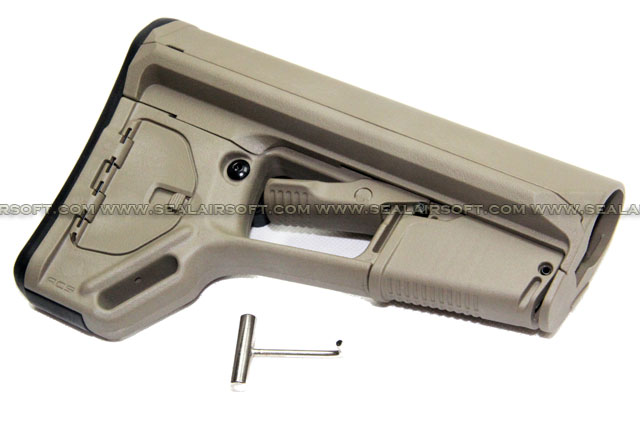 Magpul PTS ACS-L Butt Stock (Dark Earth) MAGPUL-158-DE