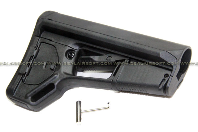 Magpul PTS ACS-L Butt Stock (Black) MAGPUL-158-BK