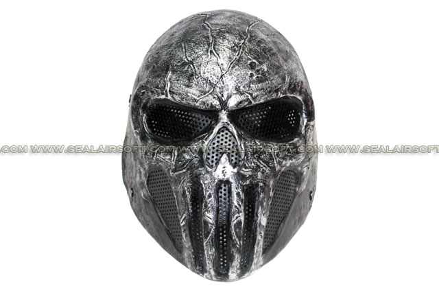 FMA Full Face Wire Mesh SKULL PUNISNER Costume Paintball Mask FMA-TB575