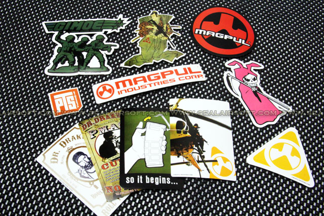 MAGPUL PTS Magpul Die-Cut Sticker Pack