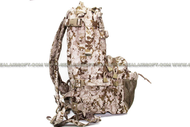 marpat Desert Precise Emerson Outdoor Military Tactical Backpack 2595g Style Seals 3-days Pack Backpack Em8619