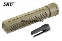 5KU 556 QDC / DQC Quick Detach Suppressor (14mm CCW, Tan) 5KU-205T