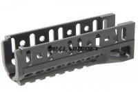 5KU Airsoft B-11U Railed Handguard For LCT / GHK AKS74U Black 5KU-274-BK