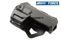 Army Force Tactical Holster For Marui G17 / G18C (Black) AF-HL020A
