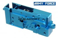 Army Force Aluminium Blue Gear Shell Case For Systema PTW / DTW AEG AF-IN0208L
