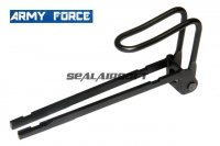 Army Force Metal Rectractable Stock For WELL G11 / KSC M11A1 (Hard Kick) GBB SMG AF-M11003