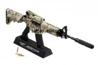 Army Force Non Function Toy Dummy Model Kit 1:6 Metal Gun - M4A1 Digital Camo AF-MC0029