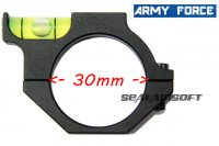 Army Force Spirit Bubble Level Ring Mount For Dia 30mm Tube Scope AF-MT0107