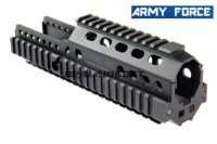 Army Force CNC Aluminium Rail Handguard For G&G L85 ARMY R85 AEG AF-RAS040