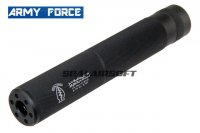 Army Force Special Force Black Silencer (190mm x 30mm, 14mm-) AF-SI0101